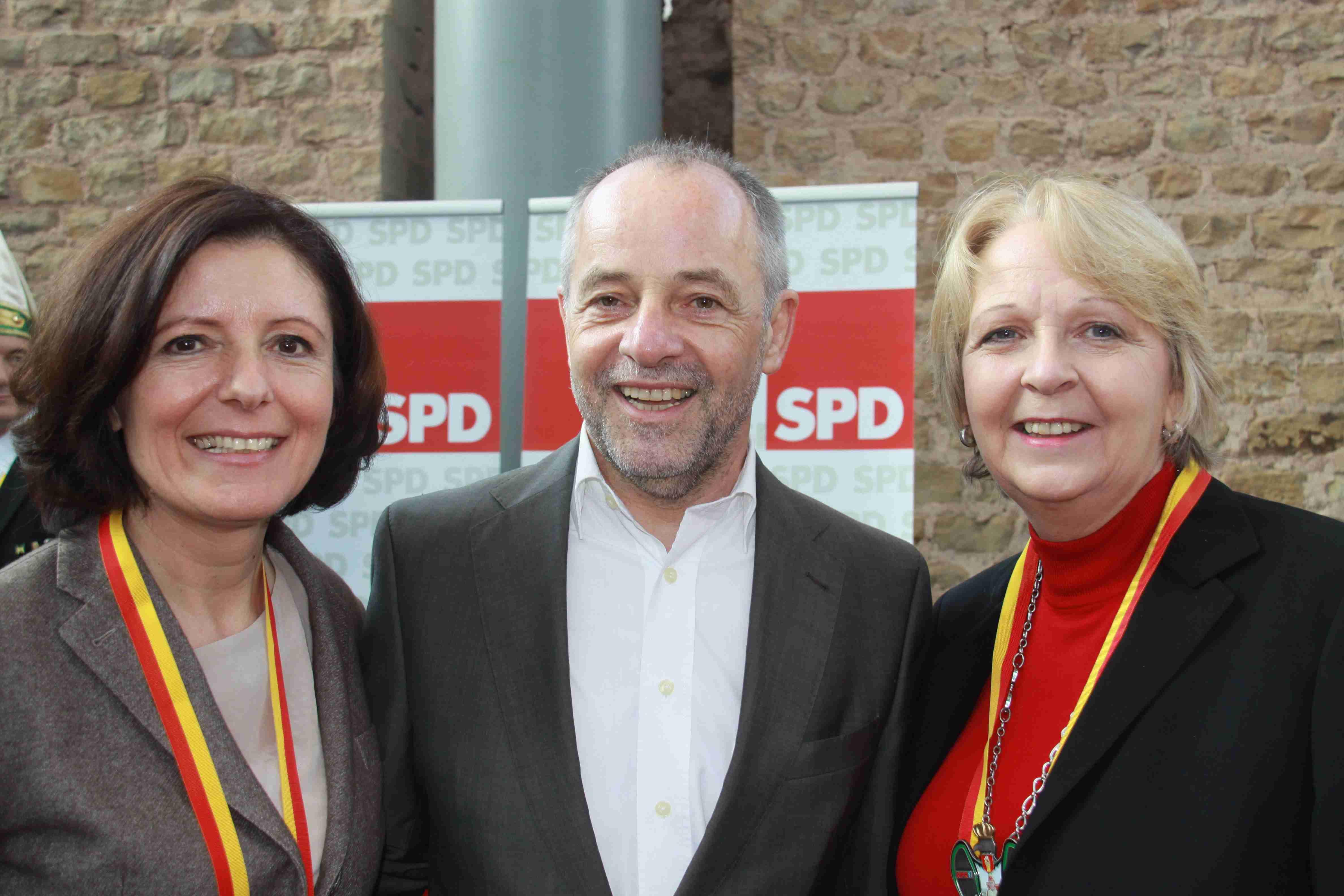 Neujahrsempfang SPD Trier 2013 – Malu Dreyer Klaus Jensen Und