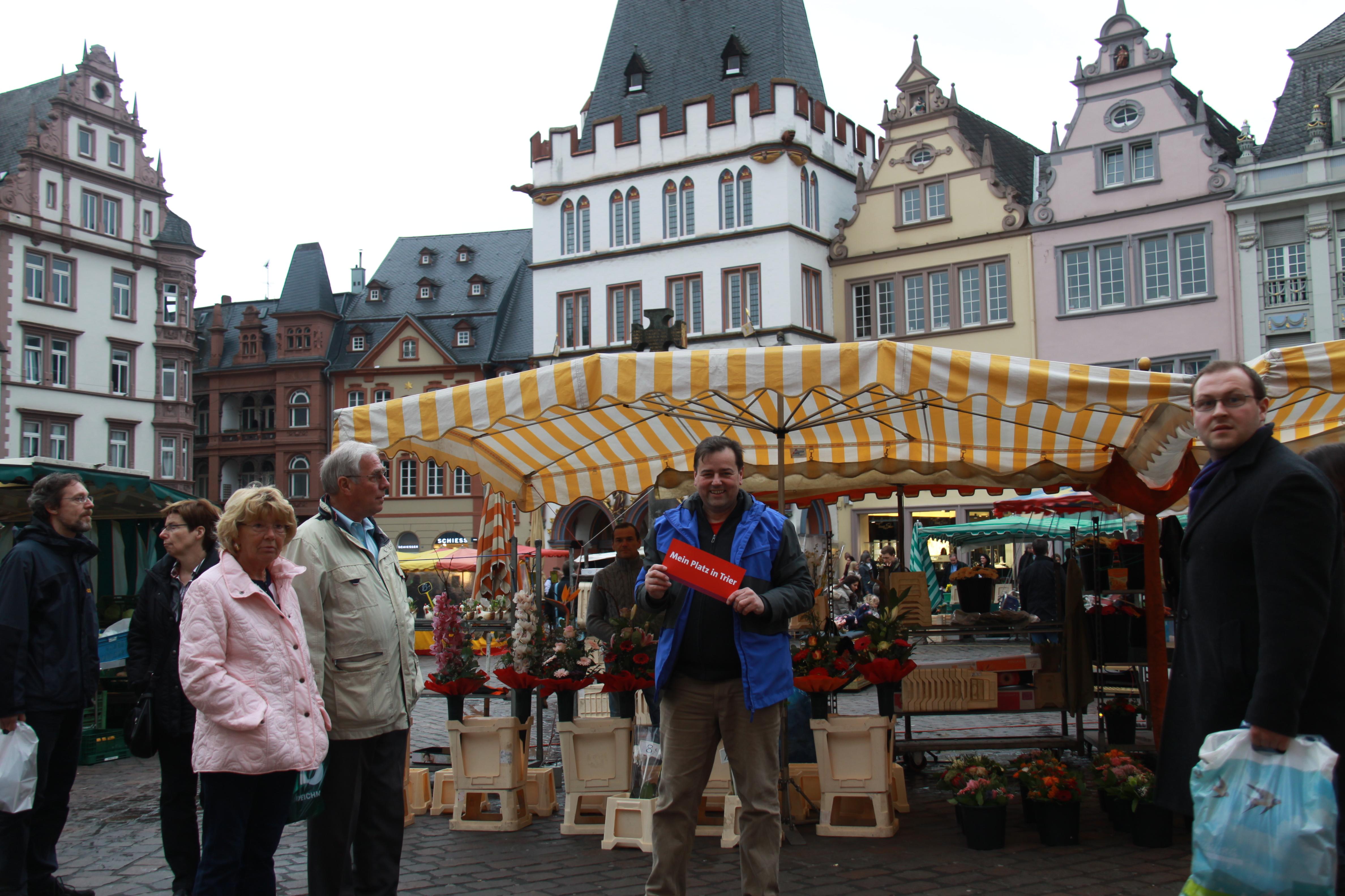 Hauptmarkt - Fotowettbewerb der SPD Trier